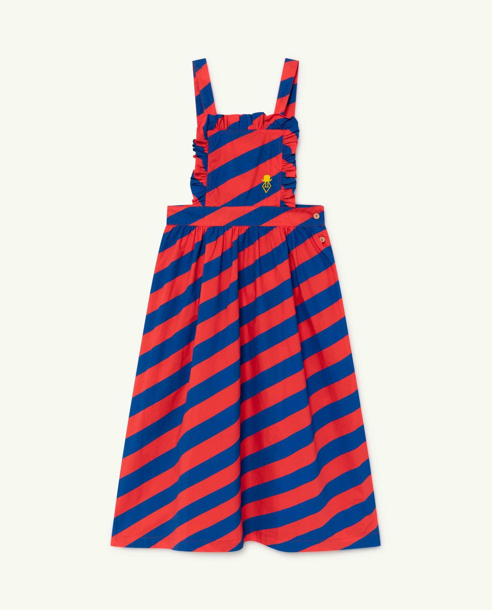 Red Stripes Cow Dress img-1