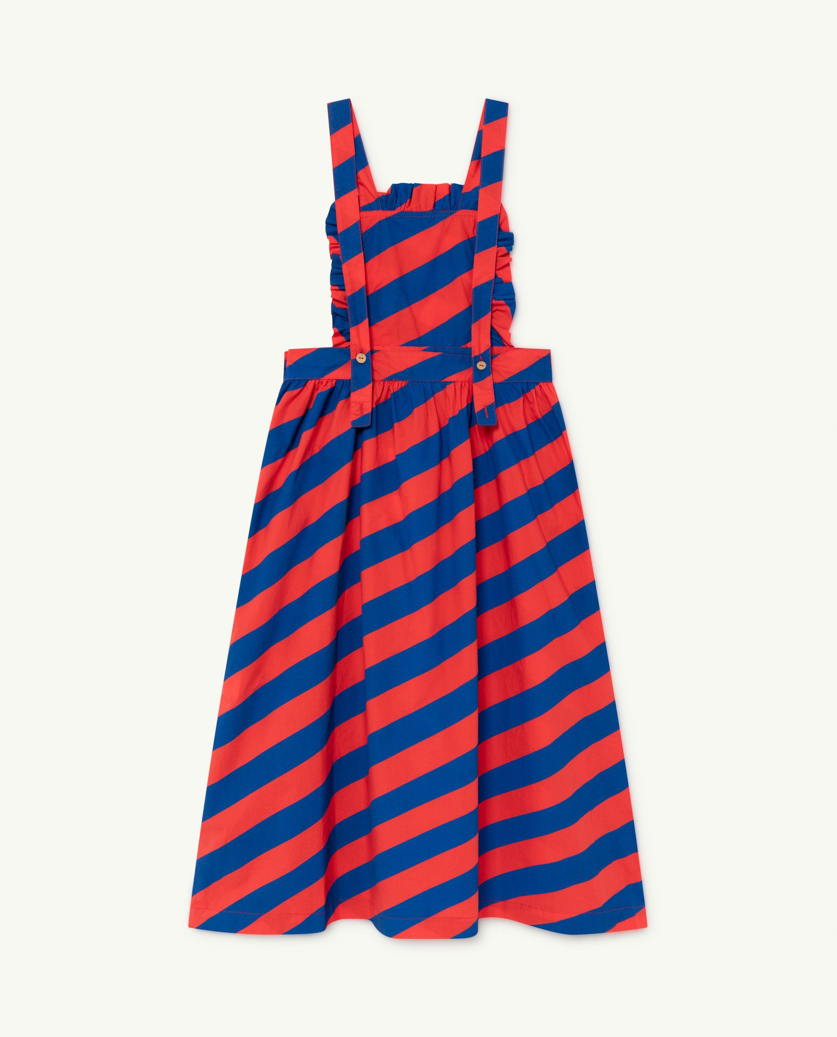 Red Stripes Cow Dress img-2