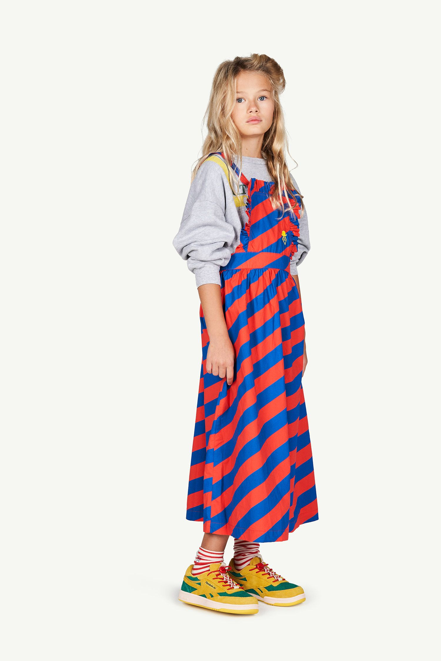 Red Stripes Cow Dress img-4