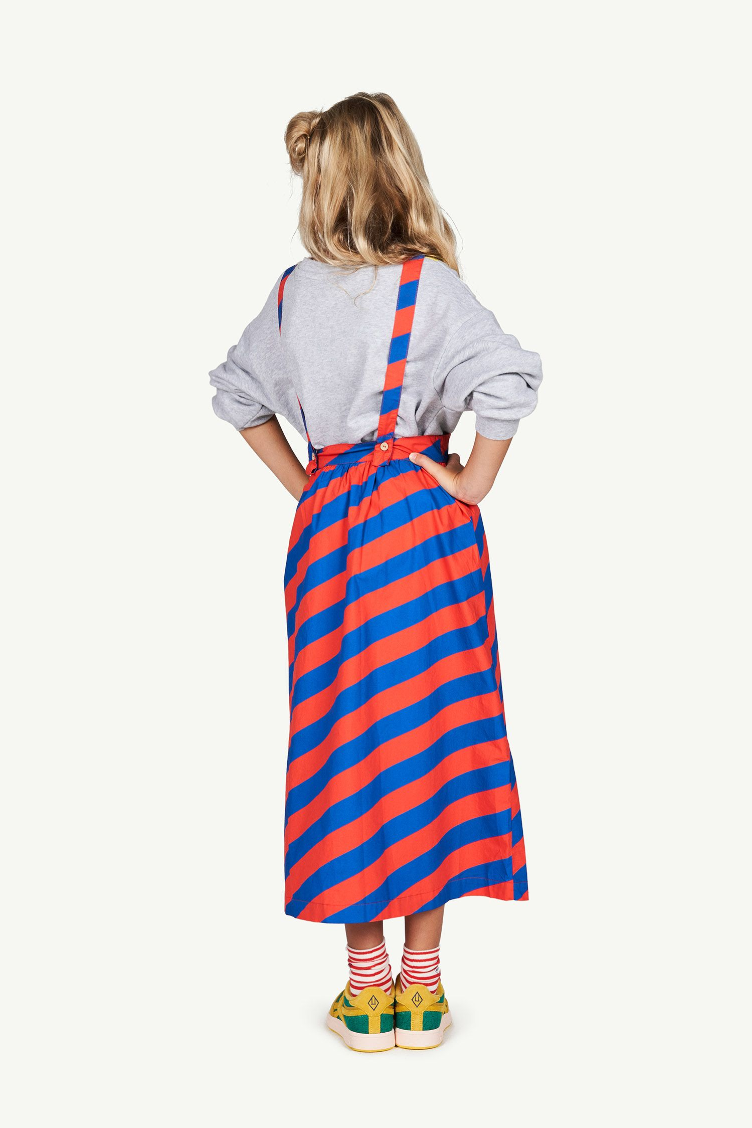 Red Stripes Cow Dress img-6