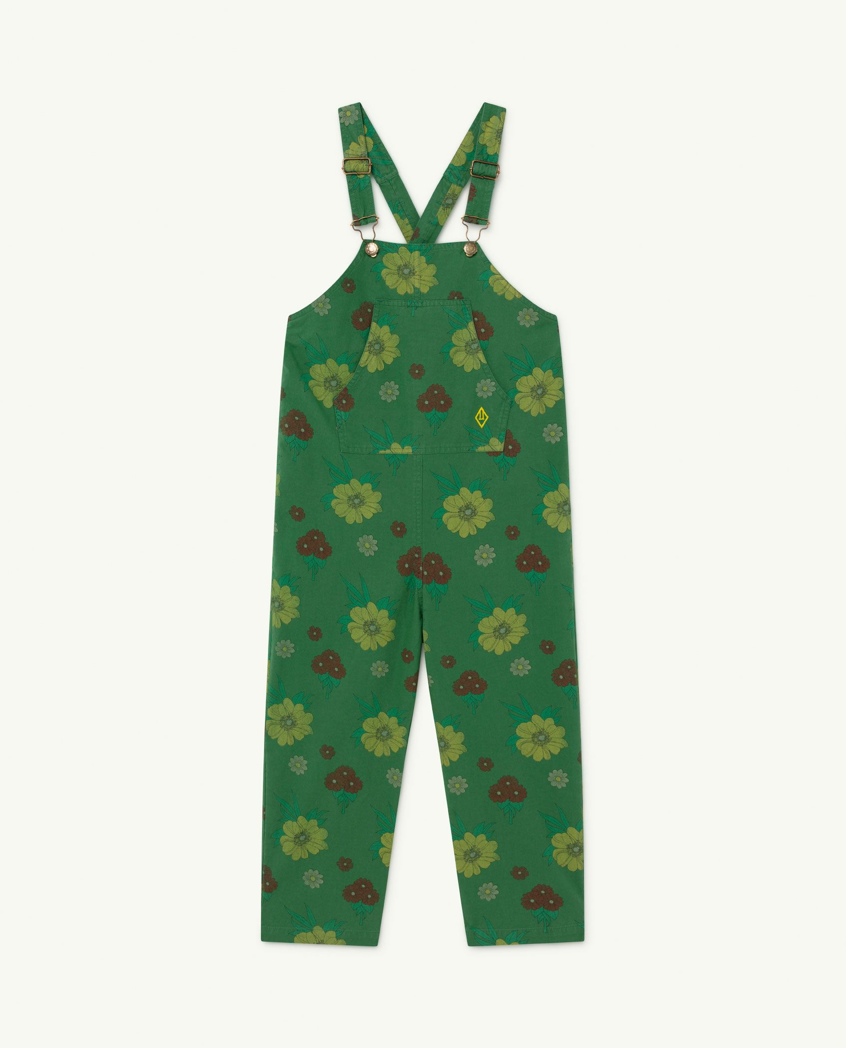 Green Flowers Mammoth Jumpsuit img-1