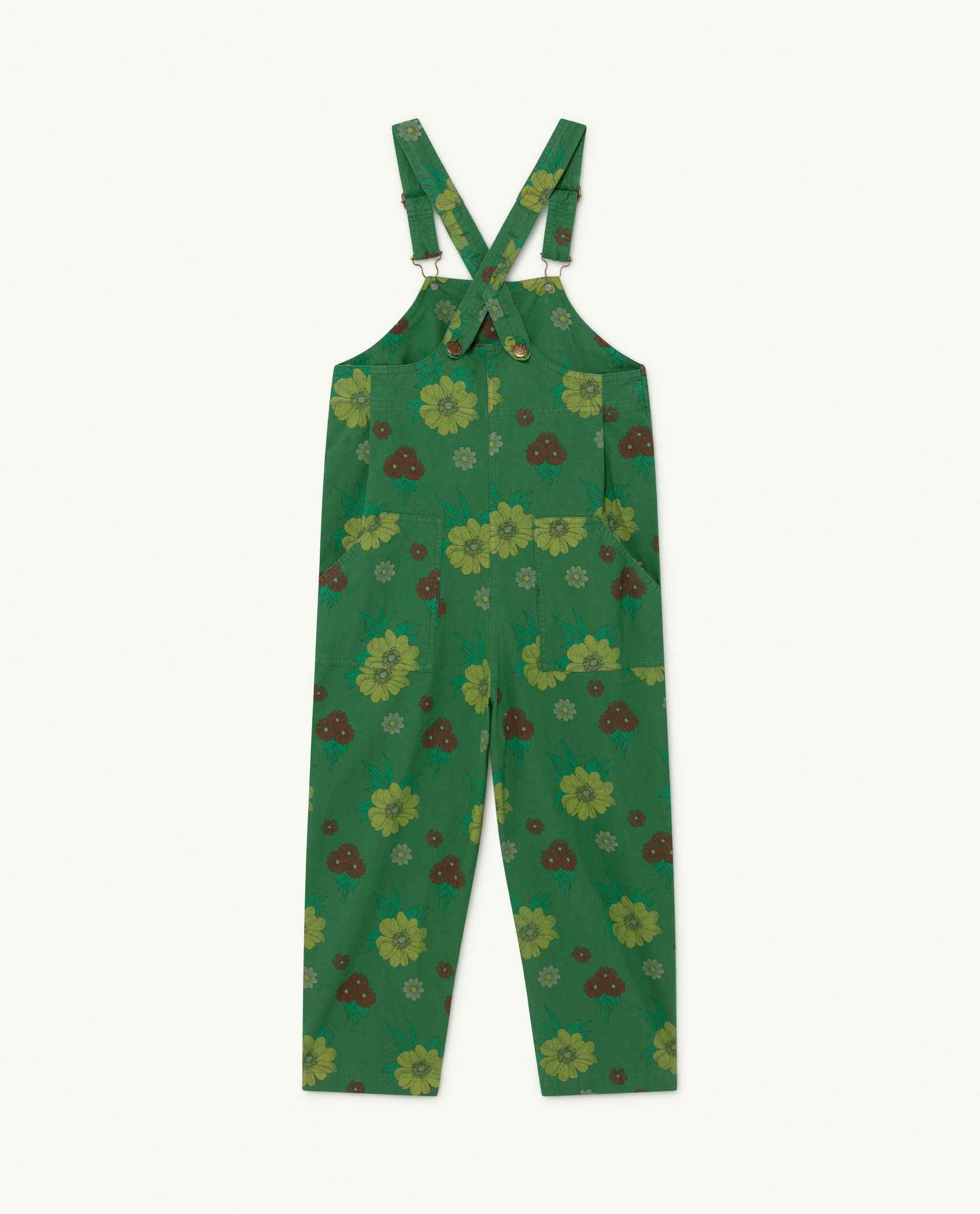 Green Flowers Mammoth Jumpsuit img-2