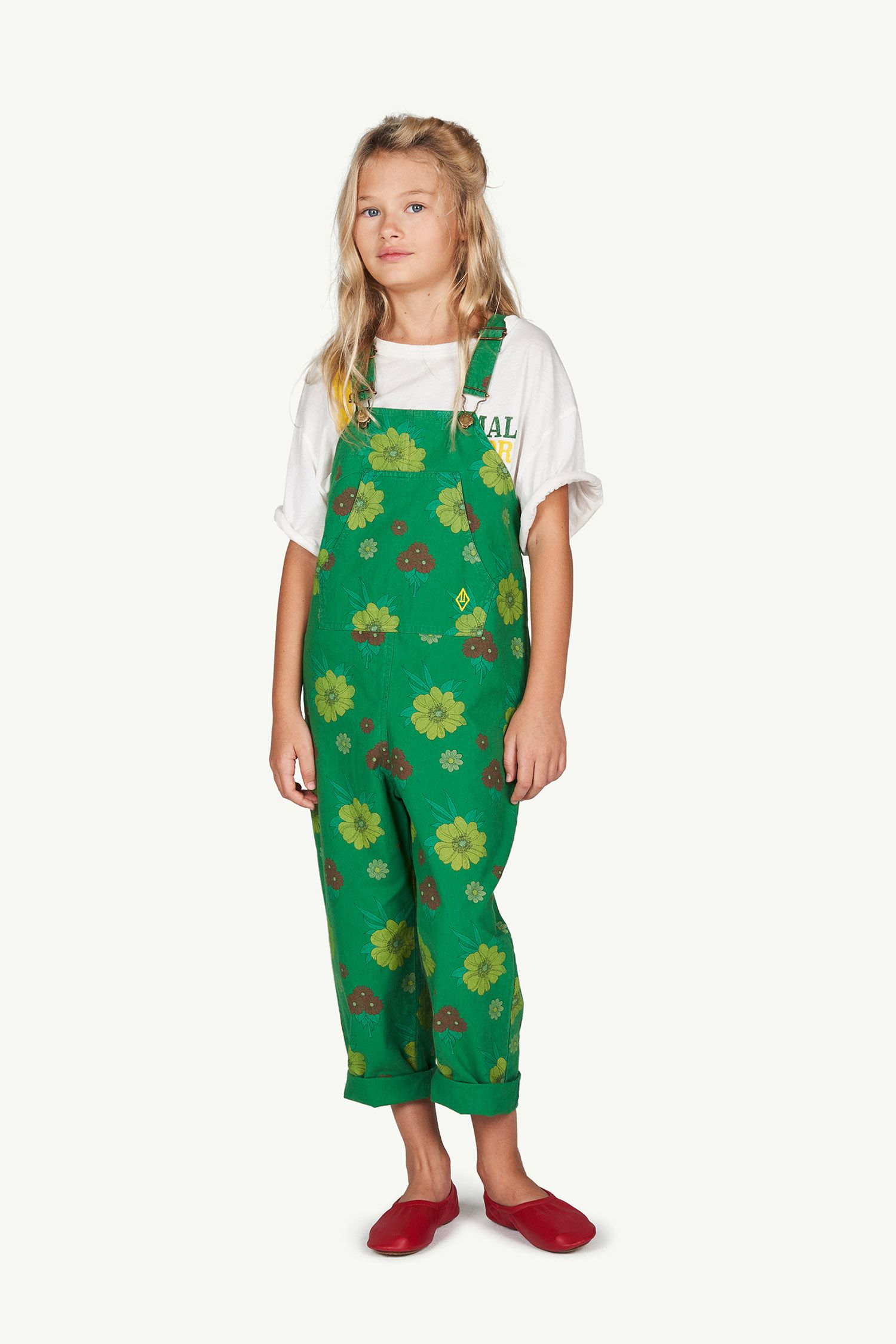 Green Flowers Mammoth Jumpsuit img-4