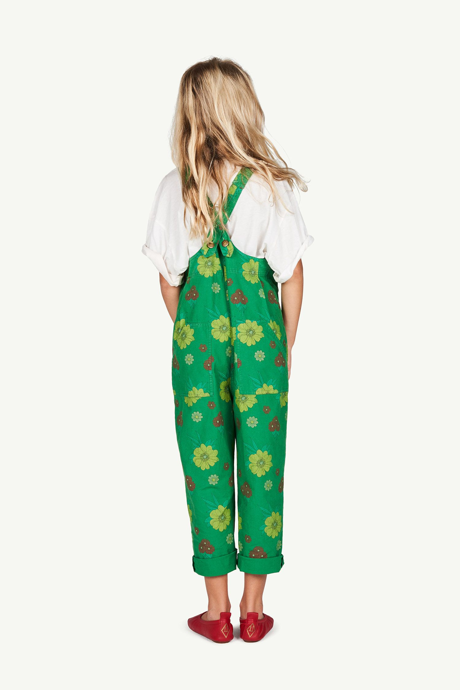 Green Flowers Mammoth Jumpsuit img-6