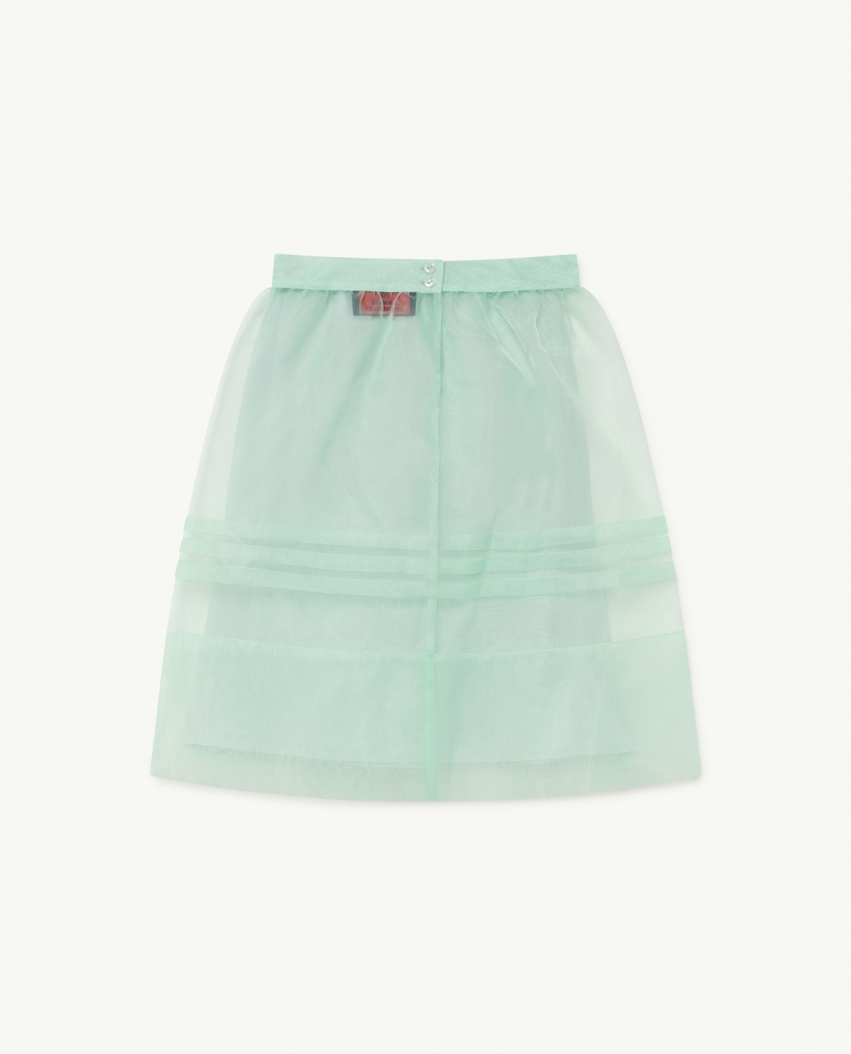 Soft Green Blowfish Skirt img-2