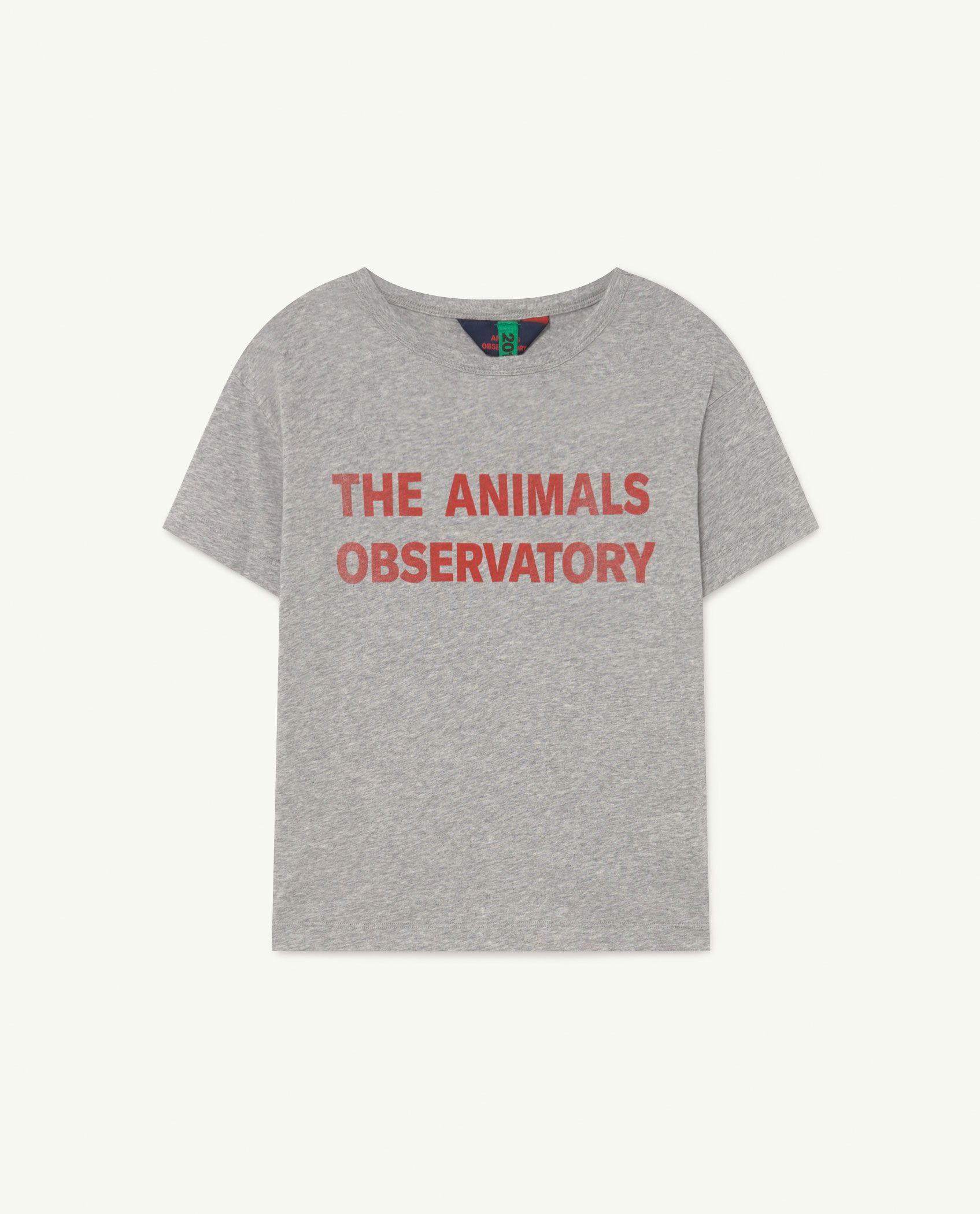 Soft Grey Rooster T-Shirt img-1