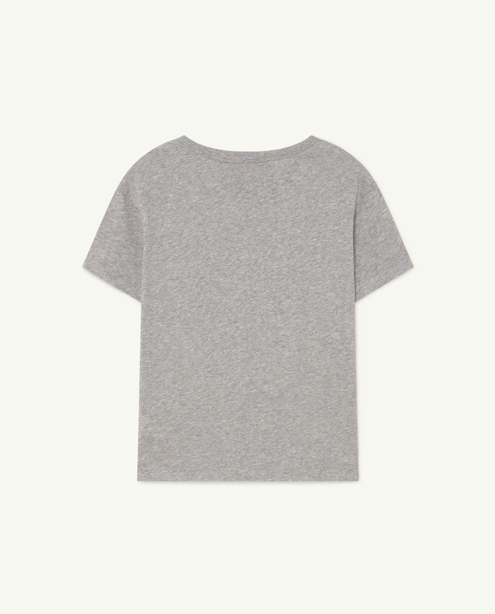 Soft Grey Rooster T-Shirt img-2