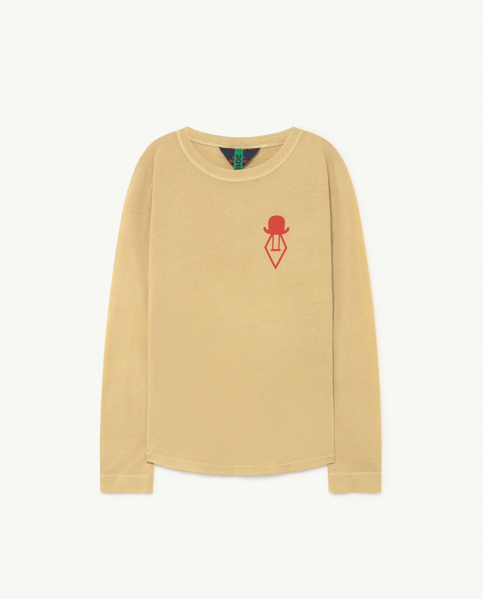 Soft Yellow Cricket Long Sleeve T-shirt img-1