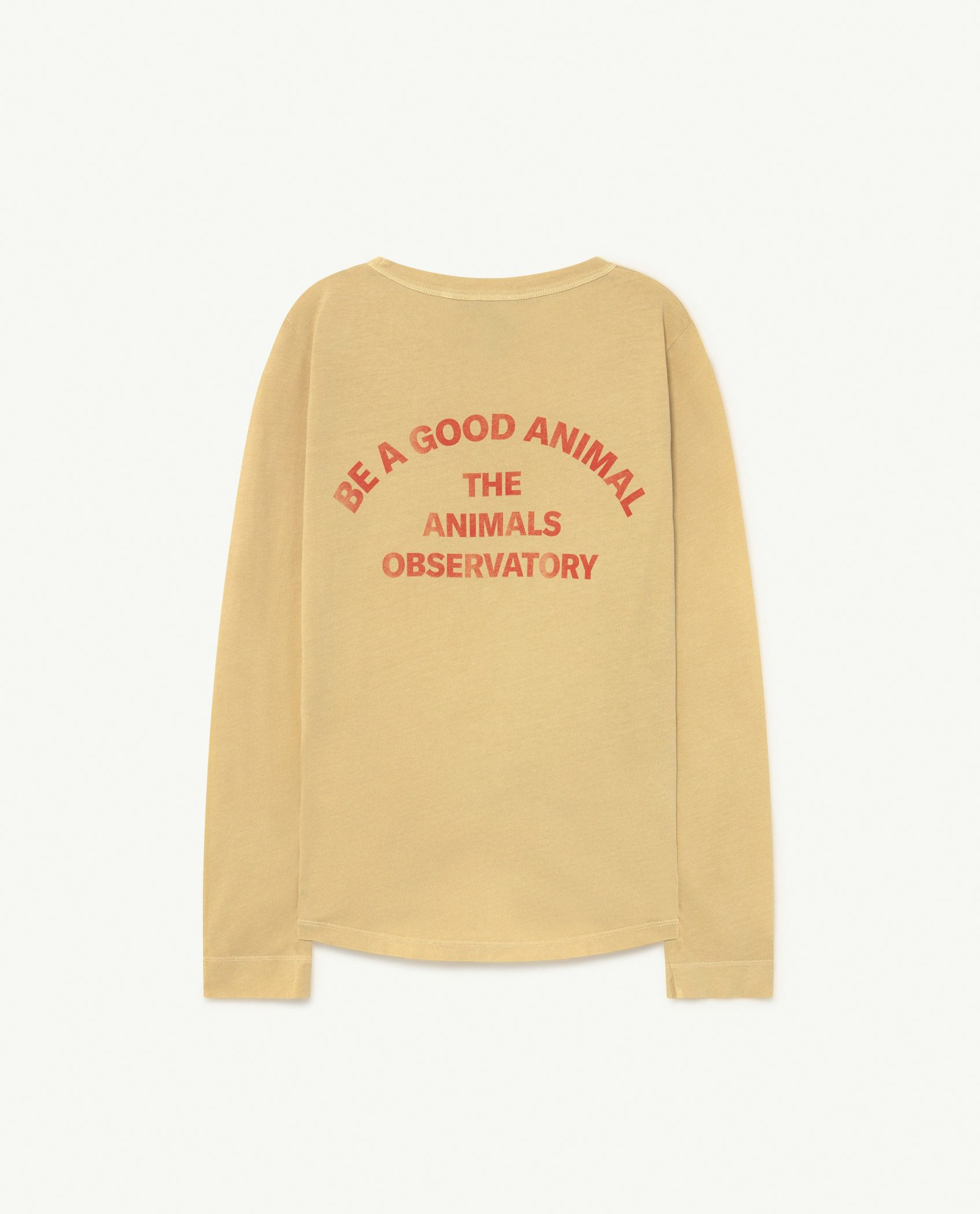Soft Yellow Cricket Long Sleeve T-shirt img-2