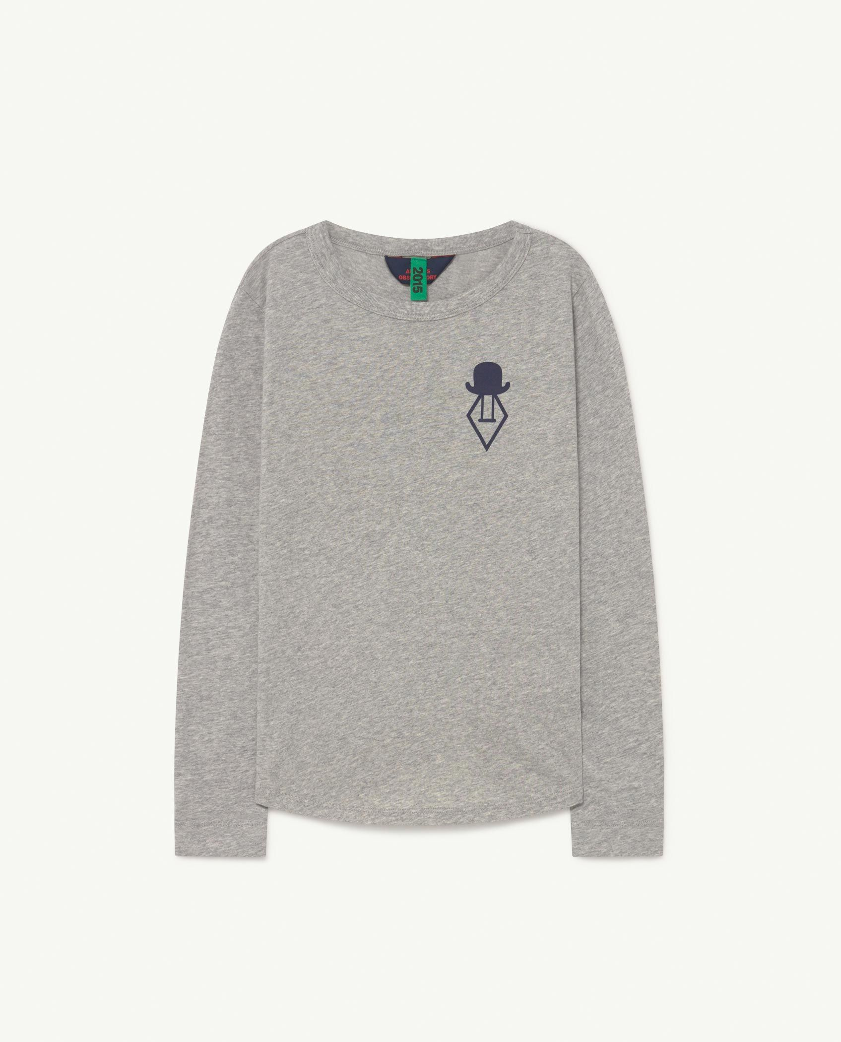 Soft Grey Cricket Long Sleeve T-shirt img-1