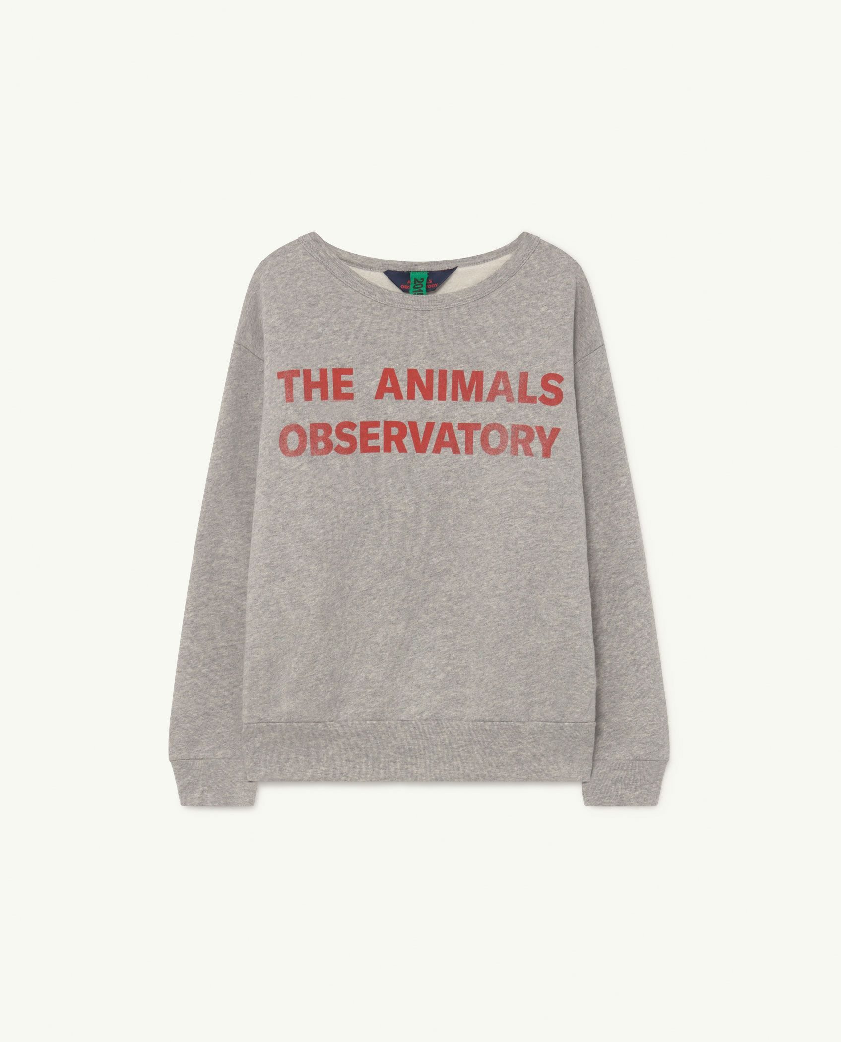 Soft Grey Bear Sweatshirt img-1