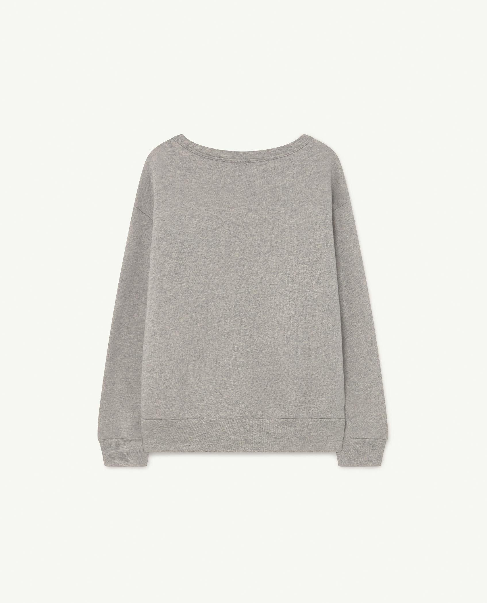 Soft Grey Bear Sweatshirt img-2