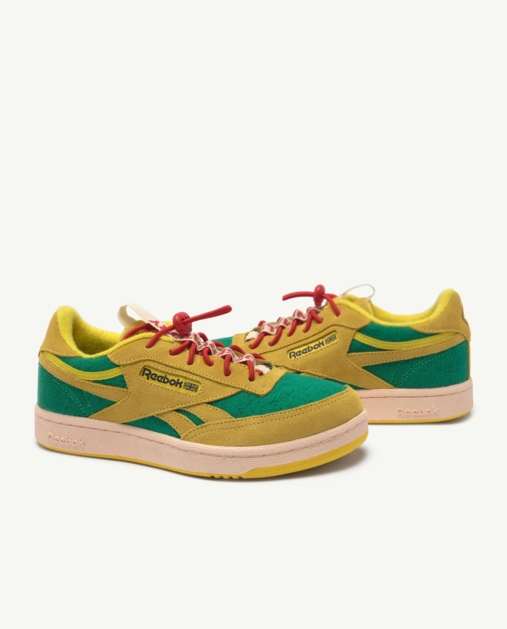 Reebok Club C Revenge Kids x The Animals Observatory Yellow img-1