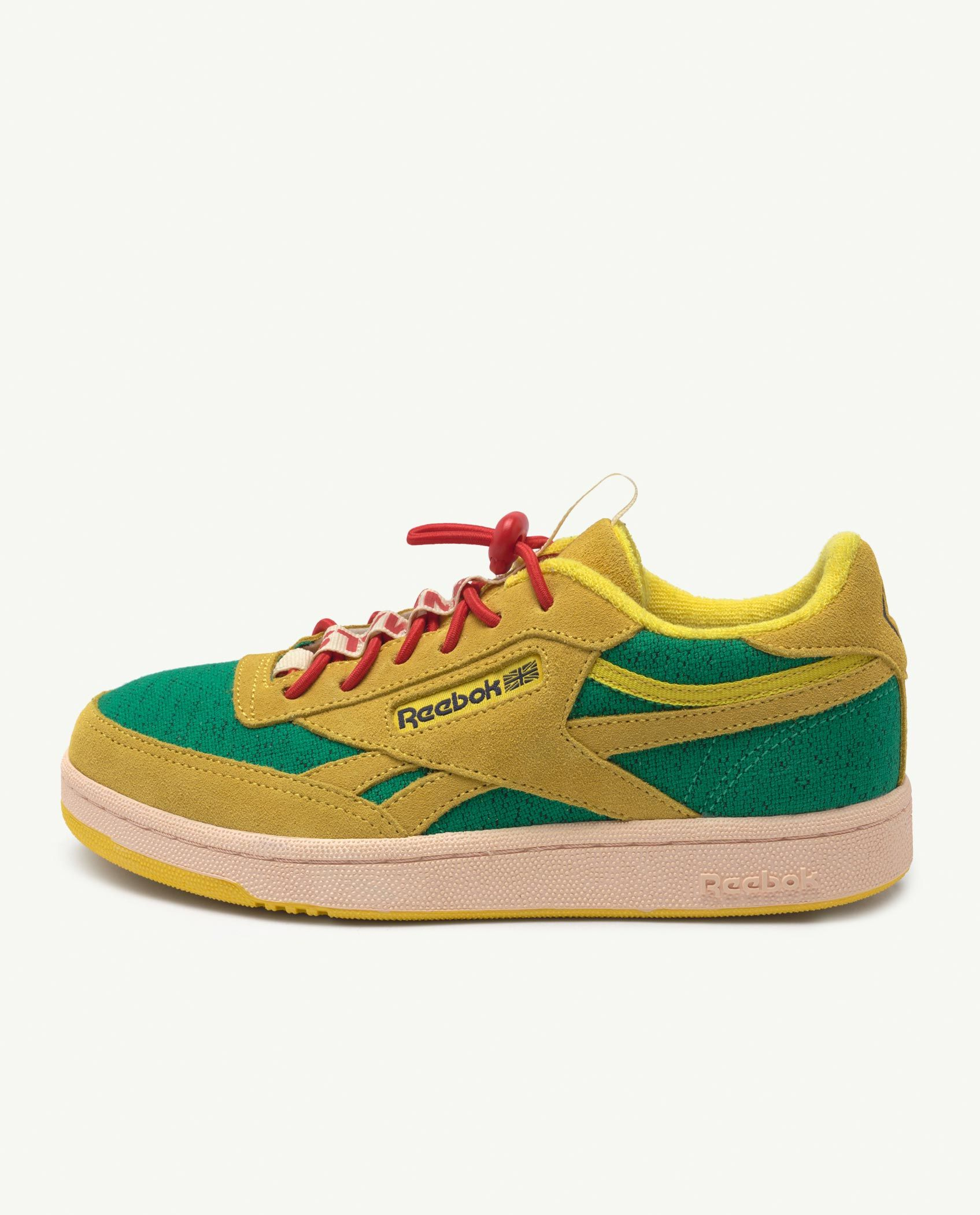 Reebok Club C Revenge Kids x The Animals Observatory Yellow img-2