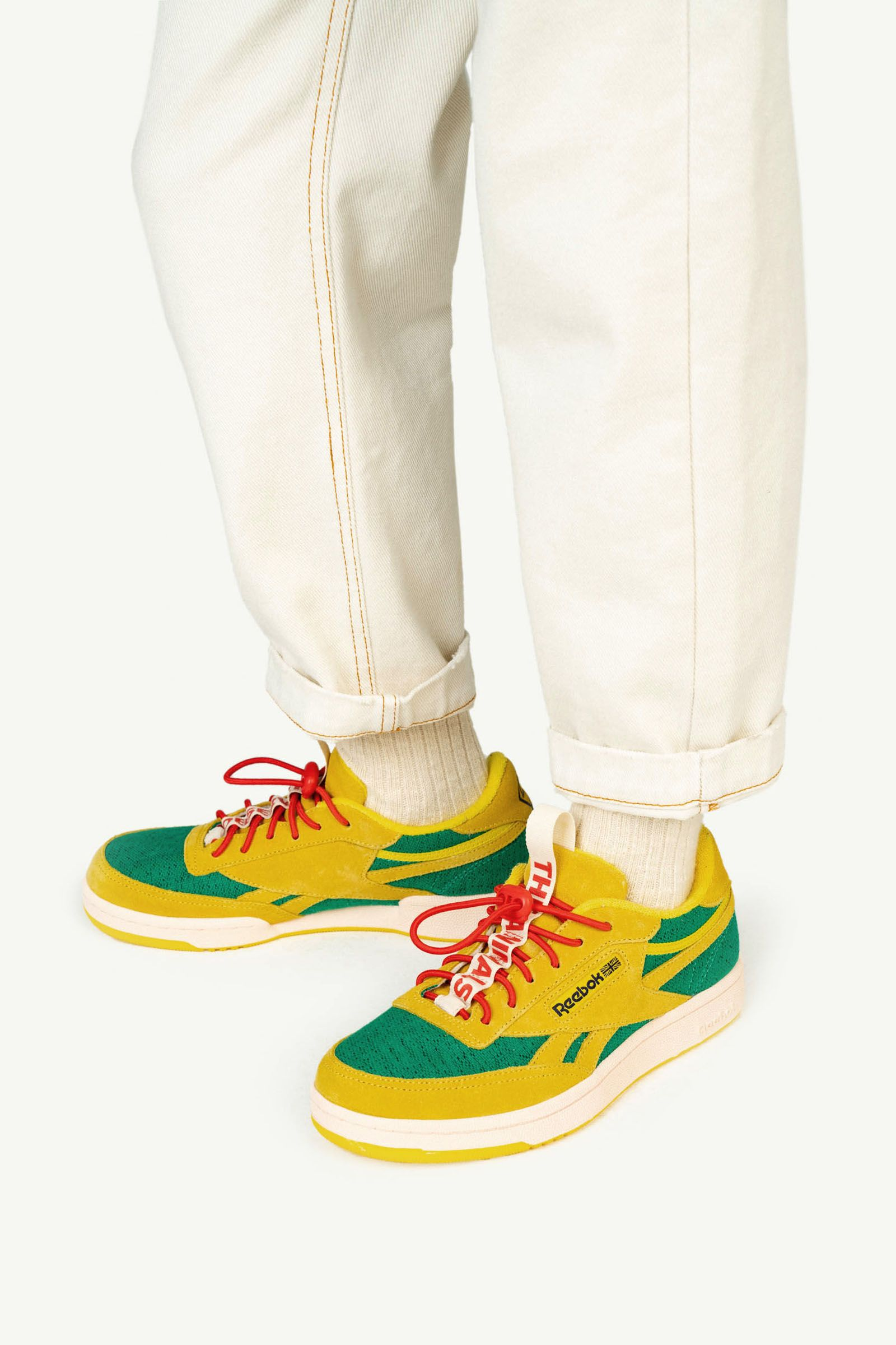 Reebok Club C Revenge Kids x The Animals Observatory Yellow img-6