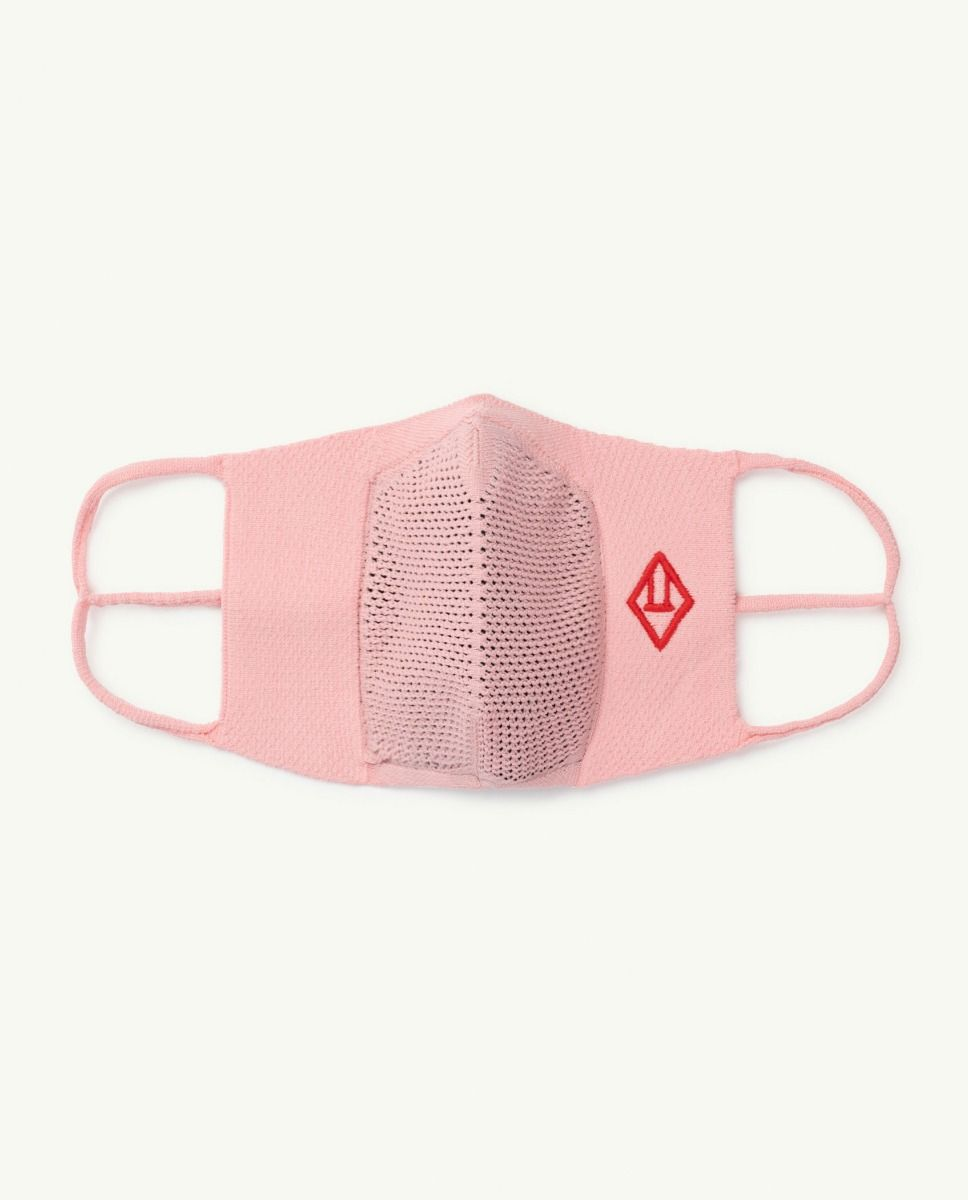 Soft Pink Face Mask img-1