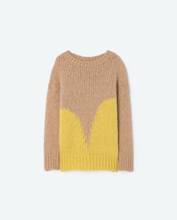 Yellow Bull Knit Sweater