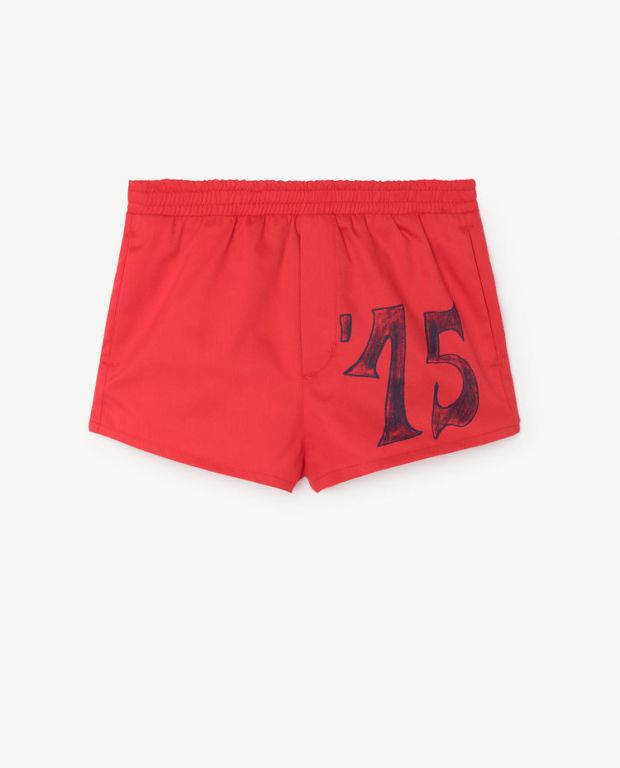 Red Puppy Swim Pants