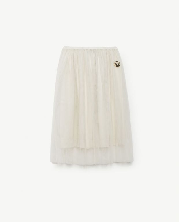 White Blowfish Skirt