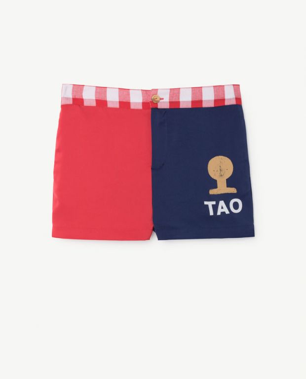 Red Blue Bee Shorts