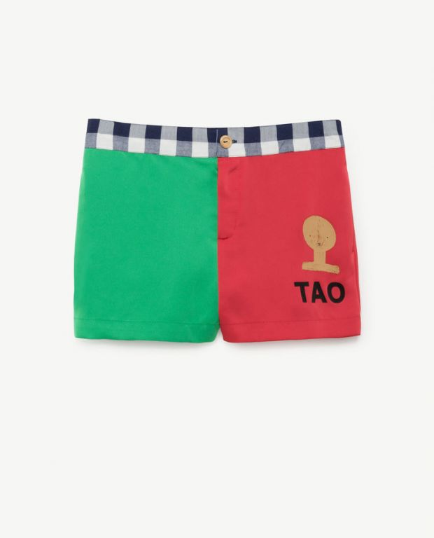 Green Red Bee Shorts