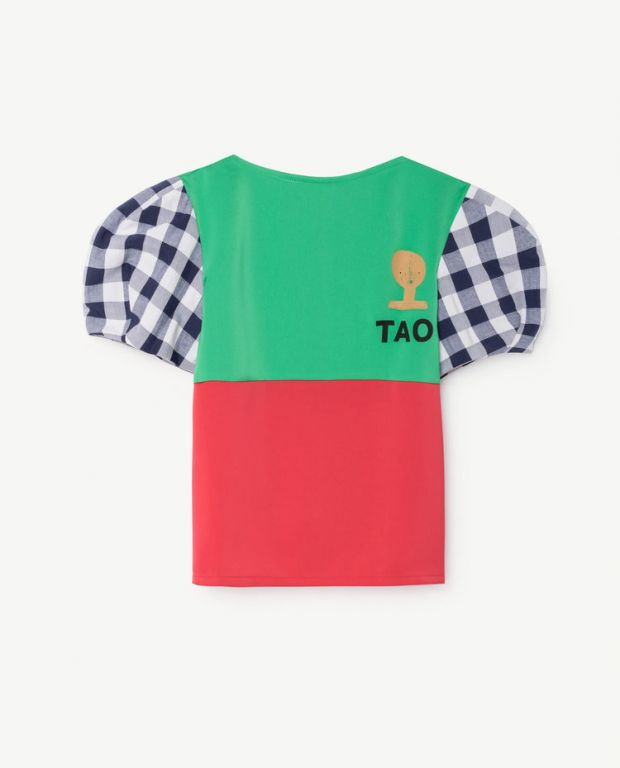 Green Red Duck Shirt