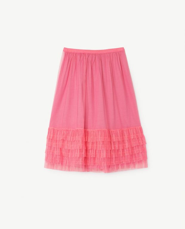 Pink Rabbit Long Skirt
