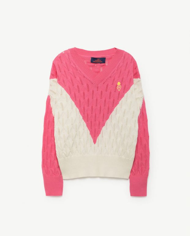 Pink Toucan Sweater