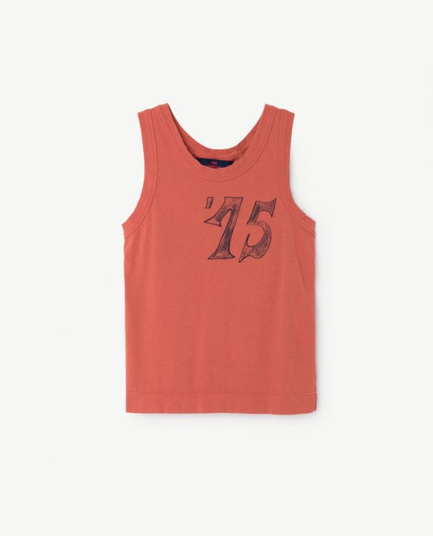 Red Frog Tank Top