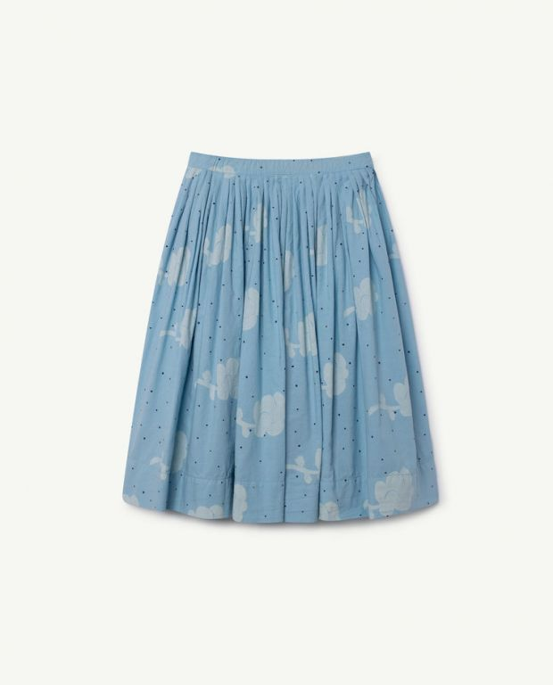 Blue Jellyfish Skirt