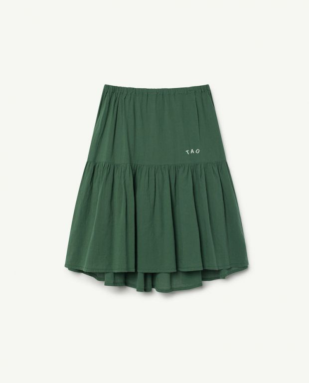 Green Bird Skirt