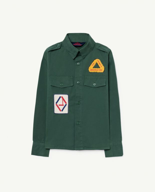 Green Twill Coyote Shirt