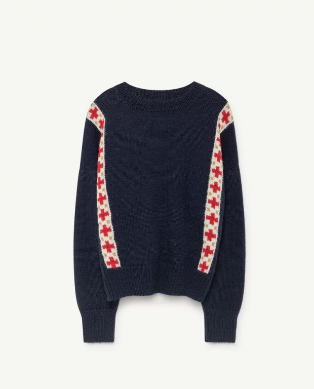 Blue Bands Bull Sweater