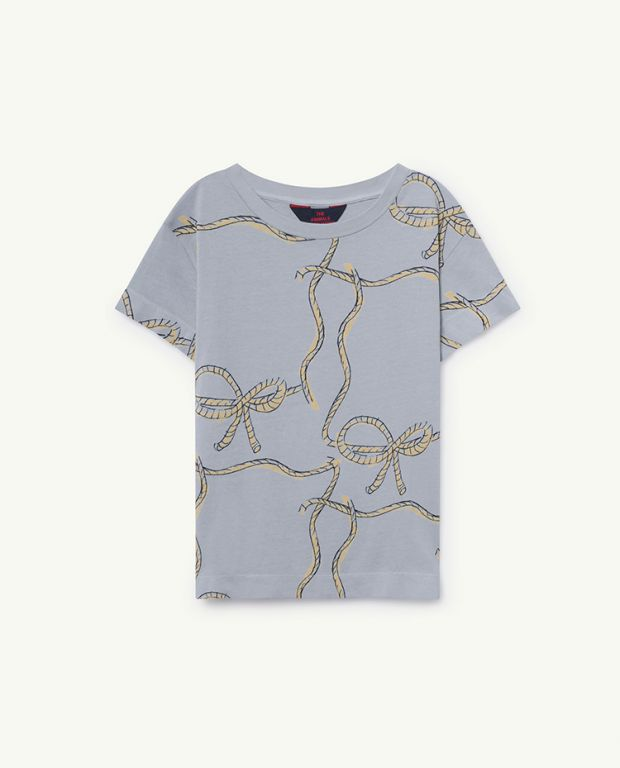 Blue Ropes Rooster T-Shirt