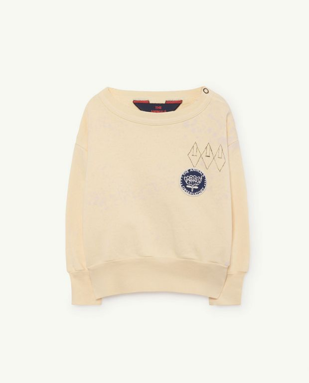 Yellow Splashes Bear Sweatshirt