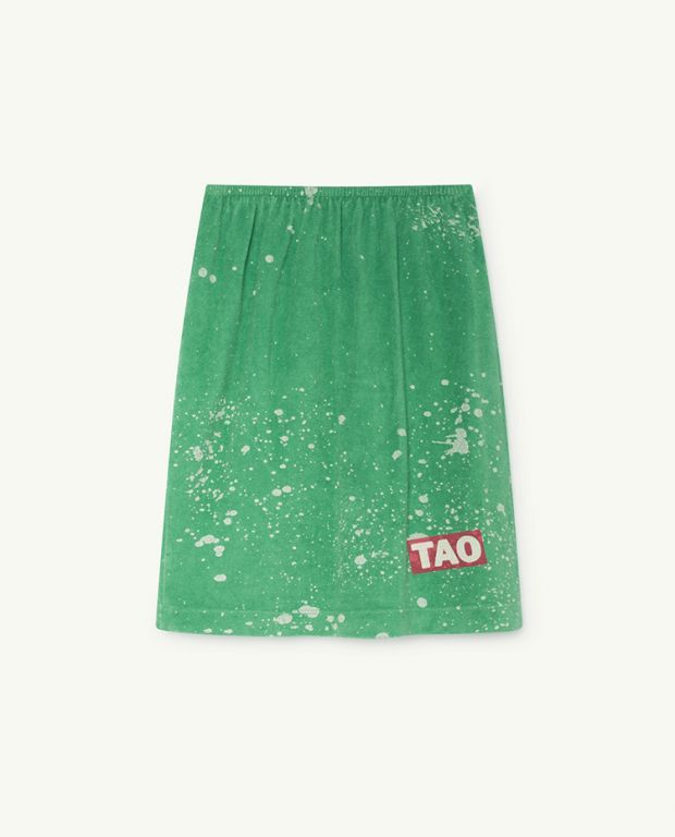 Green Kitten Skirt