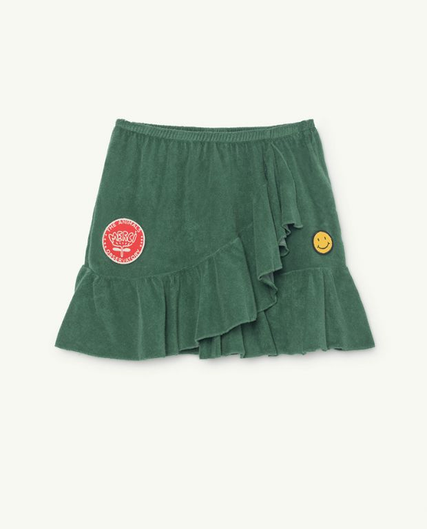 Green Manatee Skirt