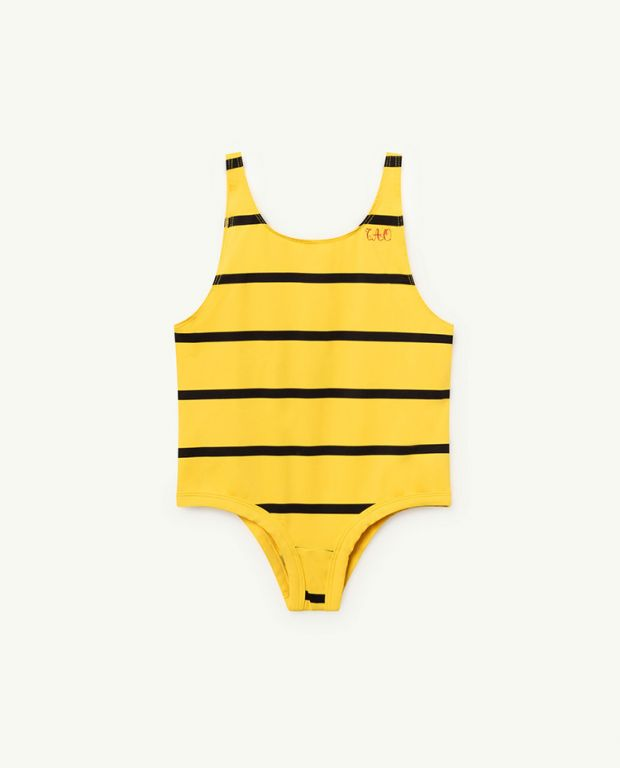 Yellow Fish Swimsuit
