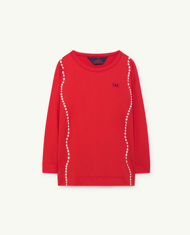 Red Deer Long Sleeve Shirt