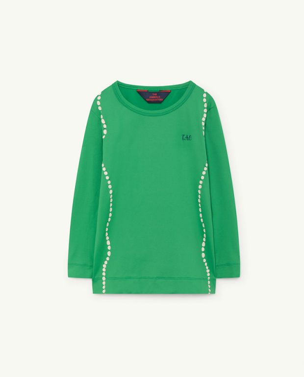 Green Deer Long Sleeve Shirt