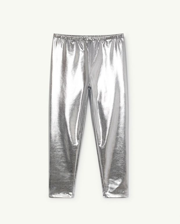 Silver Alligator Leggins