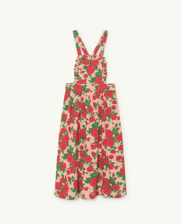 Cow Roses Dress