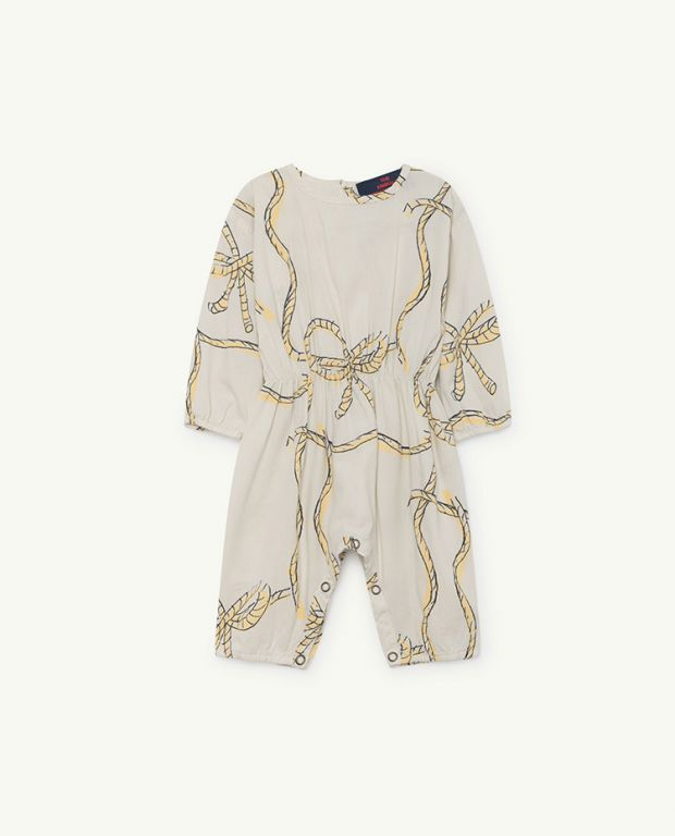 White Meerkat Jumpsuit