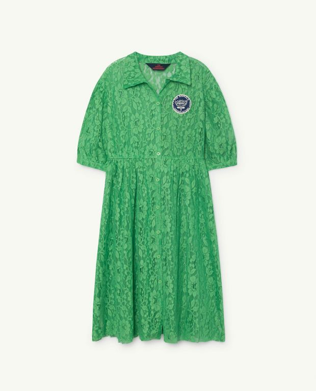 Green Dolphin Dress