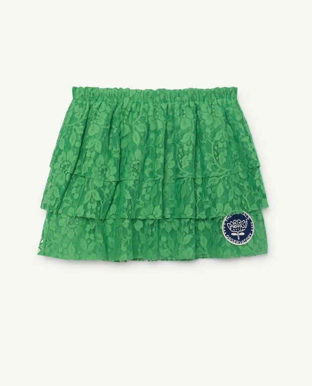 Green Turkey Skirt