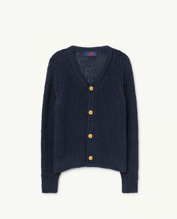 Blue Raccoon Cardigan