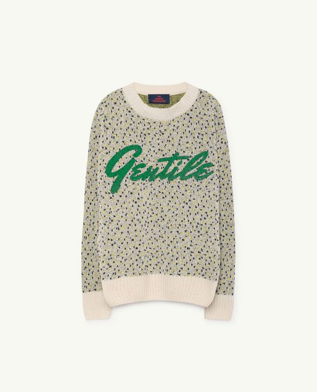 Yellow Gentile Bull Sweater