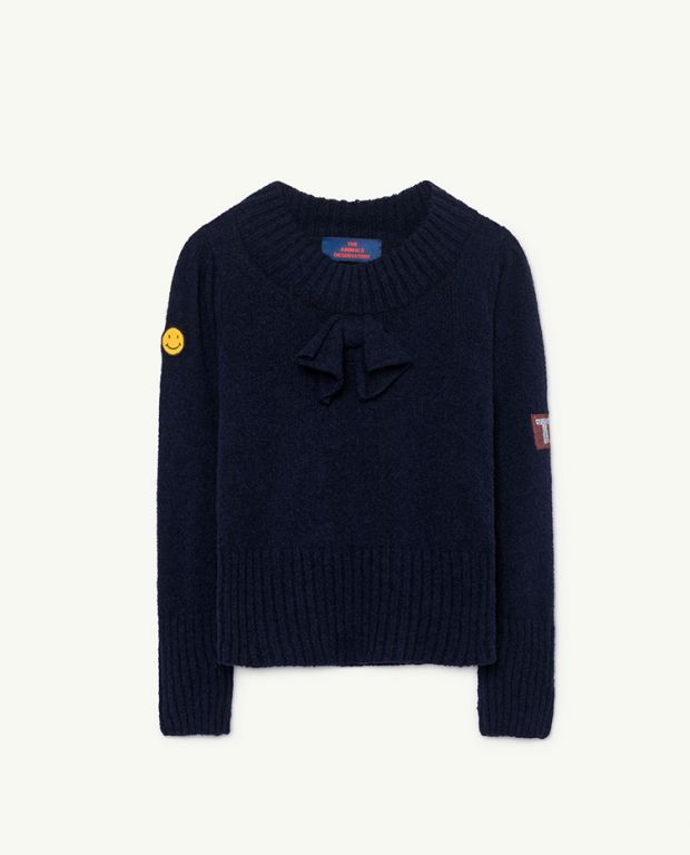Blue Horsefly Sweater