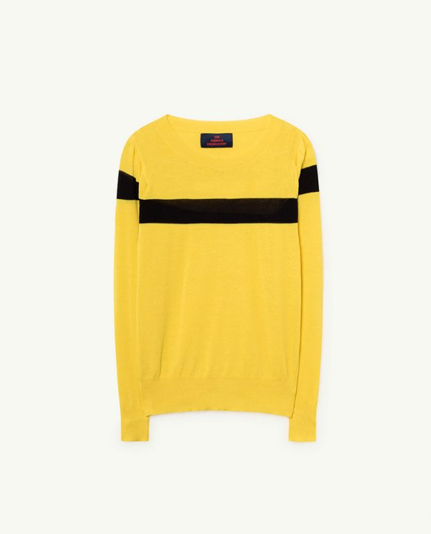 Yellow Condor Sweater