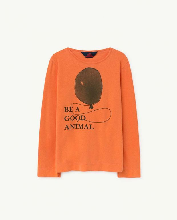 Orange Balloon Eel Long Sleeve Shirt